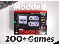 Plus De 200 Jeux Ajoutés Console Classique Snes, Système Super Nintendo Mini Avec Jeux Supplémentaires