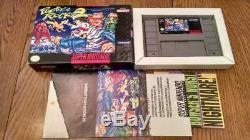 Pocky & Rocky 2 Complete Box Dans Super Nintendo Snes