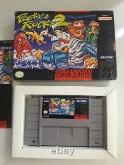 Pocky & Rocky 2 Snes Super Nintendo