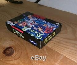 Pocky & Rocky 2 Super Nintendo Snes Complète Cib Near Mint Rare