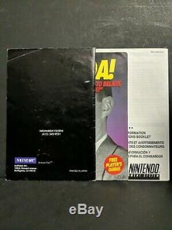 Pocky & Rocky 2 (super Nintendo Entertainment System, 1995) Snes Complet Boxed