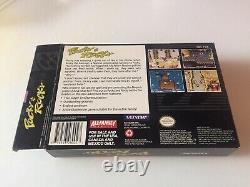Pocky Rocky Snes Box Only Super Nintendo No Game Very Rare