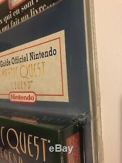 Quête Mystique + Guide Neuf Sous Blister Rigide Super Nintendo Scellé En Usine Snes