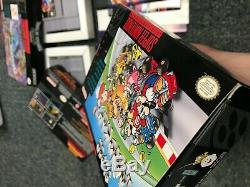 Rare! Super Nintendo Snes Lot! Super Metroid Authentique, Tortues À Temps, Zombie
