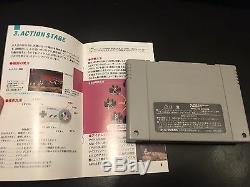 Rendu R2 Super Famicom Snes Avec Boîte Et Manuel! 100% D'origine
