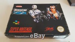 Robocop Contre Terminator Version Rare Originale Super Nintendo Snes
