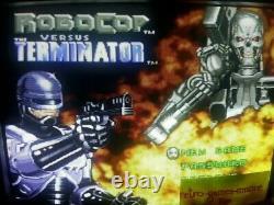 Robocop Vs Terminator Super Nintendo Snes Authentique Pict Réelle. Expédition Rapide