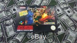 Roi Des Dragons Snes Super Nintendo Boxed Complete (eur) Authentic Pal