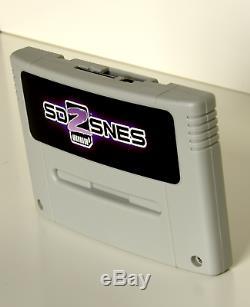 Sd2snes Super Nintendo + Carte Sd 8go Snes Famicom Super Nes