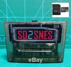 Sd2snes Super Nintendo Everdrive + De Carte Sd Snes Famicom Super Nintendo