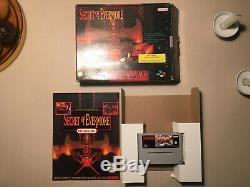 Secret Of Evermore Snes Mit Big Box Ovp Pal Deutsch Super Nintendo