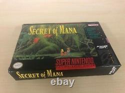 Secret Of Mana Complete Super Nintendo Jeu Original Cib Snes Très Bon