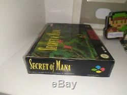 Secret Of Mana Pal Esp Snes Super Nintendo