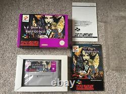 Snes Castlevania Vampires Kiss Très Rare Super Nintendo
