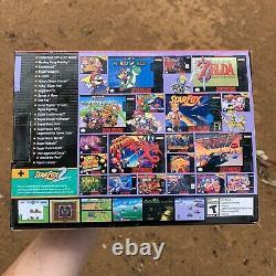 Snes Classique Super Nintendo Entertainment System 21 Jeux Intégrés Jeux Vidéo