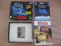 Snes Illusion Of Time Pal España Completo Super Nintendo + Revista Nintendo