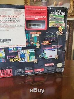 Snes Jr Mini Super Nintendo Yoshi Island Console + Contrôleur Supplémentaire