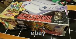 Snes Jr Mini Super Nintendo Yoshi's Island Console & System & Game All Oem Lire