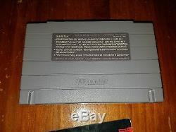 Snes Mega Man 7 Super Nintendo Complète Cib Avec Boite Et Manuel 1995 Authentique