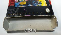 Snes Ninja Gaiden Trilogy Box Vide Seulement Super Nintendo