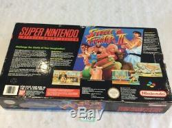 Snes Super Console Nintendo Rue Fighter 2 En Boîte