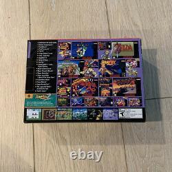 Snes Super Nintendo Classic Mini Entertainment System 7500 Jeux + Real Arcade