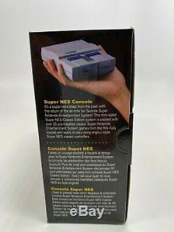 Snes Super Nintendo Classique Super Mini Entertainment System 21 Jeux