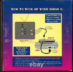 Snes Super Nintendo Console Nes 8 Bit Adaptateur System Super 8 Adaptateur Innovation