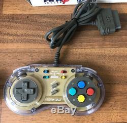 Snes Super Nintendo Entertainment Jeux Console Système 2 Contrôleurs 2 Jeux