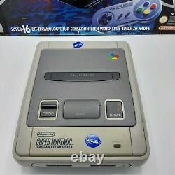 Snes Super Nintendo Entertainment System Konsole Ovp Sammlerstück Getestet