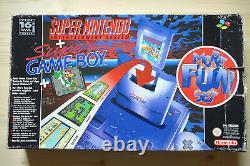 Snes Super Nintendo Konsole Mit Contrôleur Original En Ovp