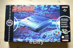 Snes Super Nintendo Konsole Mit Controller Originale En Ovp