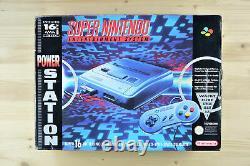 Snes Super Nintendo Konsole Mit Original Controller Dans Ovp