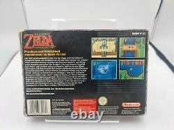 Snes Super Nintendo Légende De Zelda Un Lien Vers Le Passé Mit Ovp Und Anleitung Noe