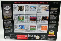 Snes Super Nintendo Nes Contrôle Set Pal Gig Version Neuf Dans La Boîte Jamais Utilisé