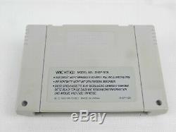 Snes Super Nintendo Street Fighter 2 Console Boxed
