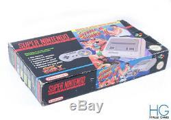 Snes Super Nintendo Street Fighter 2 Edition Console Boxed Bundle! Copain