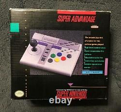 Snes Super Nintendo Super Advantage Controller Dans La Boîte