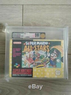 Snes Super Nintendo Super Mario All Stars Bande Rouge Nouveau Scellé Pal