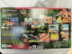 Snes Super Nintendo Super Nintendo Donkey Kong Set Console Complète Withbox