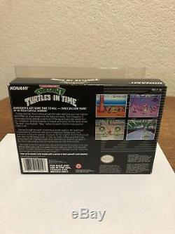 Snes Super Nintendo Tortues IV Tortues In Time Cib Complet