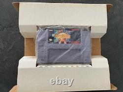 Snes Terrestre / Super Nintendo USA / Ntsc Original Complet Avec Guide