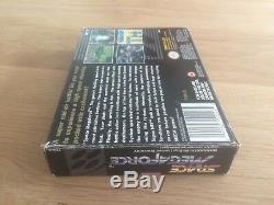 Space Force Mega Super Nintendo Snes Complète Cib Boxed Jeu Rare Megaforce