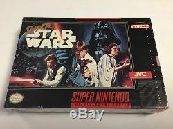 Star Wars Super Nintendo Snes Nouvelle Usine Scellée Première Impression Version Jvc