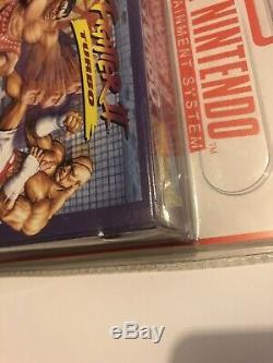 Street Fighter 2 Turbo Neuf Sous Blister Rigide Super Nintendo Scellé En Usine Snes