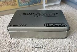 Street Fighter 2 Turbo Tin Collectors Super Nintendo Snes Boxed Pal Cib Ukv