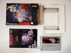 Street Fighter Alpha 2 Super Nintendo Snes Pal Euro