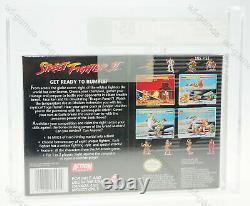 Street Fighter II 2 Super Nintendo Snes Nouveau Nouvellement Scellé Vga 85+ Graal Rar