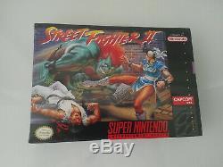 Street Fighter II Super Nintendo Snes Nouveau Scellé Nes Mint Condition Beauty