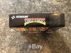 Sunset Riders Pour Super Nintendo Snes Complet Dans Une Boîte Avec Instructions